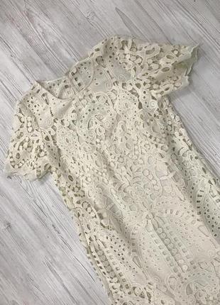 Кружевное платье футляр2