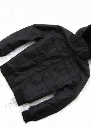 Стильная демисезонная куртка с капюшоном h&m