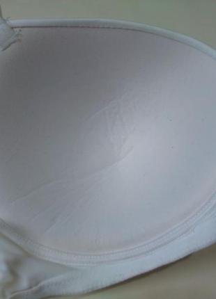 90в 40в, 95а/ 85с гладкий базовый белый бюстгальтер без косточек marks & spencer7