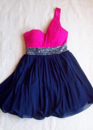 Платье нарядное шифон