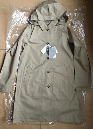 Плащ непромокаемый women blocktech soutien collar coat от uniqlo3