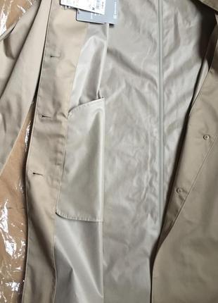 Плащ непромокаемый women blocktech soutien collar coat от uniqlo4