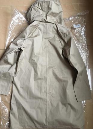 Плащ непромокаемый women blocktech soutien collar coat от uniqlo8