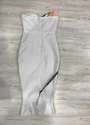 Бандажное платье миди plt8 фото