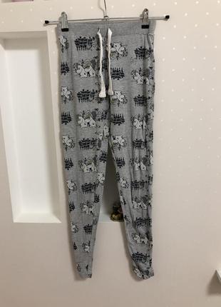 Отличные коттоновые штаны для дома сна4