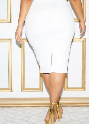 Кружевная юбка миди3