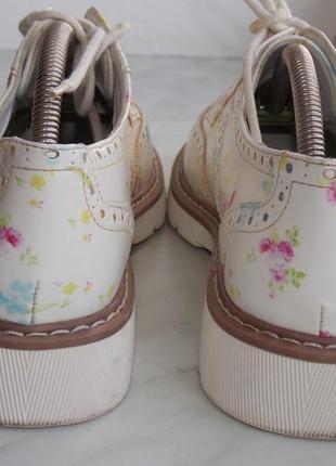 """Броги р.38 """"graceland"""" эко кожа весенние туфли/оксфорды в идеале 24.7 см6"""