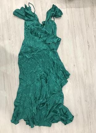Платье миди из жаккарда asos design5 фото
