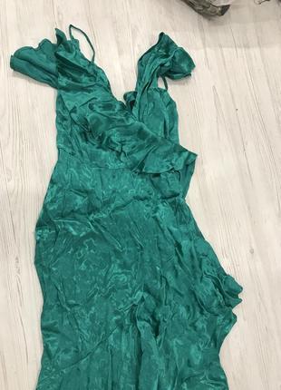 Платье миди из жаккарда asos design6 фото