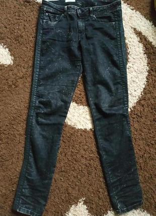 Джинсы с лампасами pepe jeans