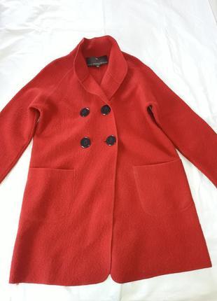 Пальто-кардиган прямого кроя fenn wright manson,100% шерсть мериноса