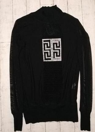 Гольф/кофта сетка бренда versace оригинал