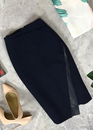 Суперстильная юбка с ассиметричным кроем  ki191606 zara