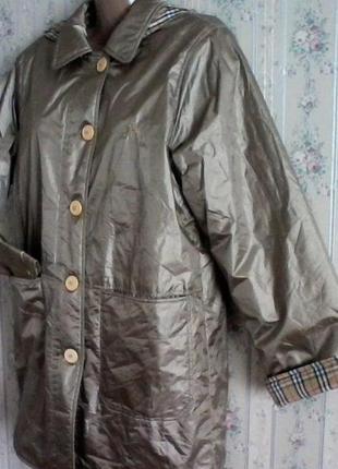 Тренч парка куртка, двухсторонее, разм.46-48