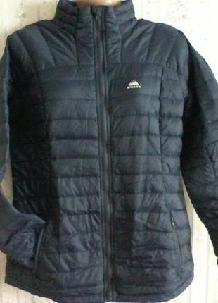Куртка пуховик легкая, холодная осень -теплая зима, разм. 48