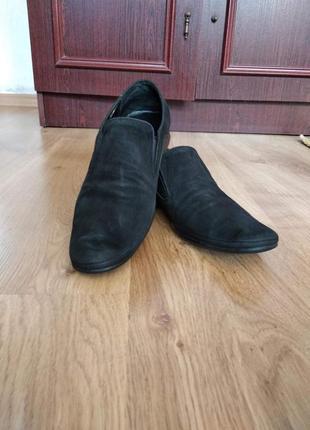 Удобные натуральные туфли от braska,будут на 41 размер, стелька 26.5 см