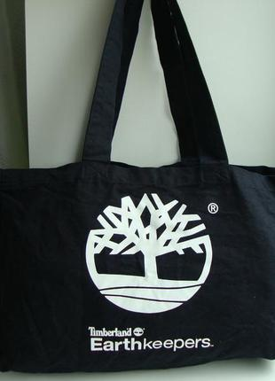 Фірмова текстильна сумка шоппер американського бренду timberland.оригінал!!!