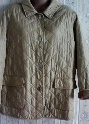 Куртка демисезонная стеганная, разм.48, нюанс