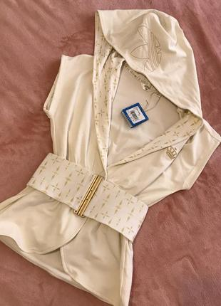 Sale!!! жилетка с капюшоном adidas