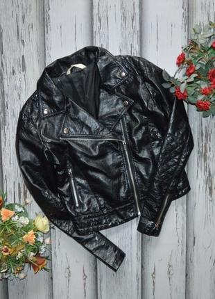 14 лет куртка кожанка косуха h&m