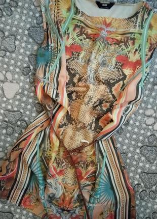Летний легкий сарафан платье