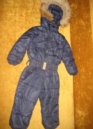 Комбинезон зима 2-3 года,рост 92 см