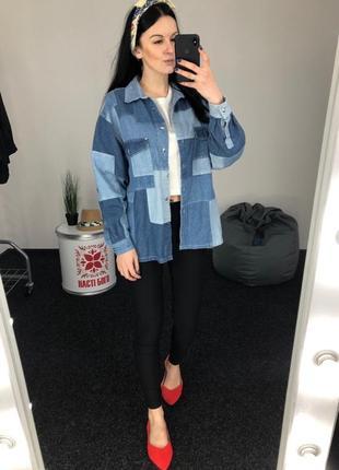e85d255e Женские джинсовые рубашки в Николаеве 2019 - купить по доступным ...