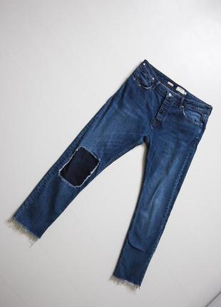 Крутые стильные джинсы topman р. 32-33