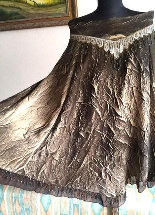 Супер бохо нарядная юбка