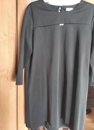 Платье черное размер 46
