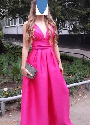 Шикарное выпускное, вечернее платье