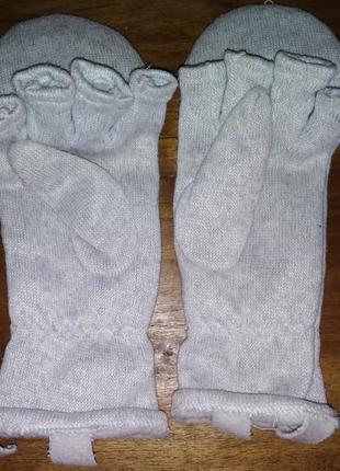 Перчатки-митенки тсм