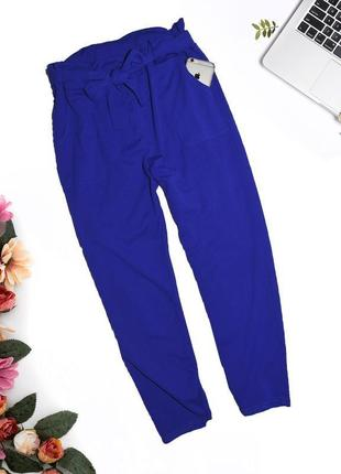 Ультрамариновые штаны с карманами primark