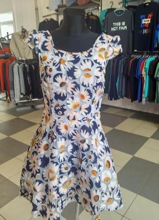 Красивое воздушное платье