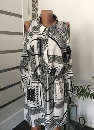 Туника - рубашка удлиненная2 фото