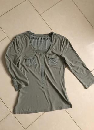 Водолазка стильная модная дорогой бренд karen millen размер s_m