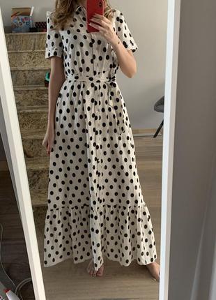 Очень красивое, женственное платье французкого бренда sezane