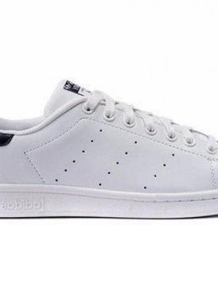Белые кеды adidas stan smith white black