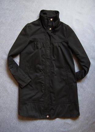 Стильный и практичный минималистичный плащ куртка из плотного котона urban surface