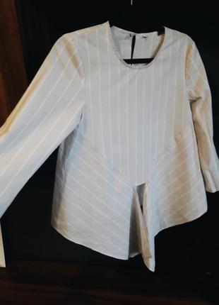 Супер легкая блуза в полоску new look