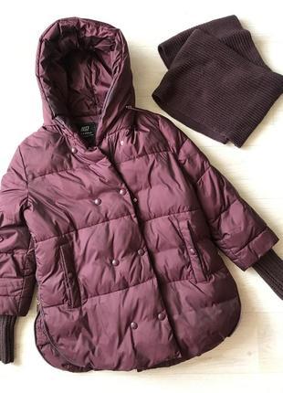 Продам свою курточку, тёплую с хомутом