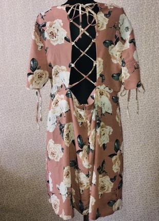 Шикарное платье большого размера со шнуровкой на спине от atm