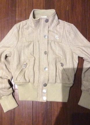 Укороченная демисезонная куртка от river island! p.-38