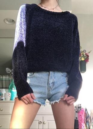 Классный укороченный свитер джемпер h&m, размер s