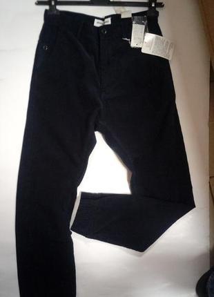Подростковые, вельветовые, брюки, джогеры, на мальчика,14