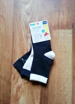 Набор детских носков три пары1 фото