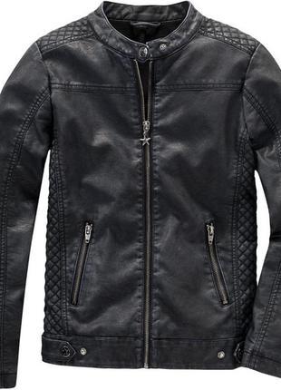 Куртка, кожанка, косуха утепленная yigga.