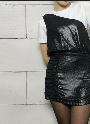 Платье графитового цвета