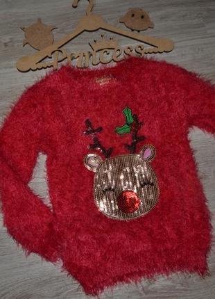 Кофта свитерок моднице нг 5-6л мягкий