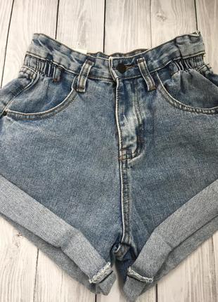 Стильные джинсовые шорты3 фото